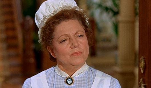 "Oh yeah, I forgot to mention that Hermione Baddeley (the maid from ""Mary Poppins"") also appears in this film as the Biddle's cook. You know, because they wanted to keep the fact that this movie was made to recreate ""Mary Poppins""'success subtle!"
