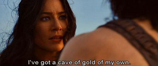 john carter cave gold