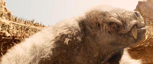 It's CLEARLY some sort of gargantuan...umm...rat/rhino/walrus/chupacabra thing. Take your pick.
