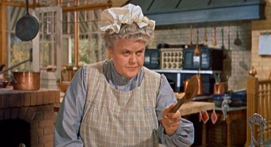 "Reta Shaw as a cook? No wonder she did ""Mary Poppins"" also!"