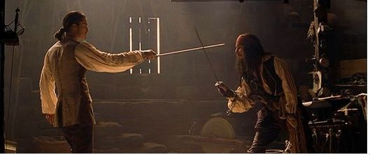 pirates of the caribbean duel1