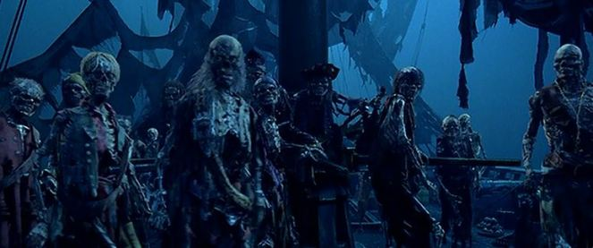 pirates of the caribbean skeletons