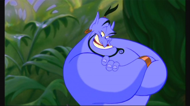 """That's why you should have consulted a genie! We don't have any of that 'null and void' fine print!"""