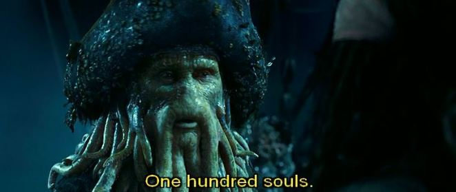 potc dead mans chest souls