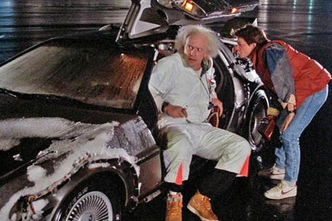 """Yeah...and you're not even using a flux capacitor!"""