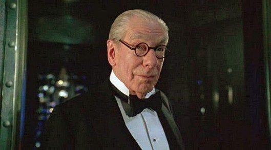 """No, you're mistaken. He's talking about me. I am indeed Michael Gough and I played Alfred Pennyworth."""