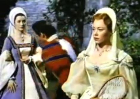 And by talking, I mean having Charles Brandon ignore Mary Tudor completely and talk to her servant instead to teach her a lesson on arrogance. Ah, love, isn't it wonderful?