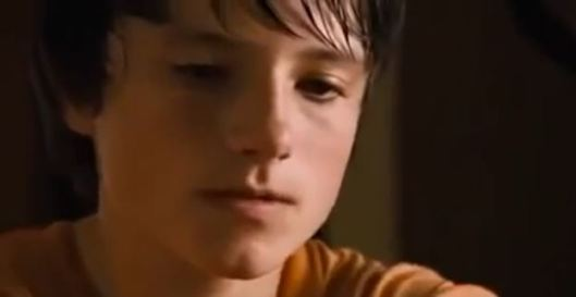"Yes, all you members of Team Peeta! Josh Hutcherson WAS alive and acting WAY before ""The Hunger Games"" came out!"