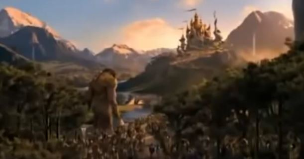 The movie ends with a blatant CGI reminder that this is a Disney movie.