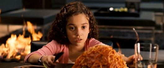 """I've heard of making a mountain out of a molehill, but making a mountain out of spaghetti...that's just ridiculous!"""