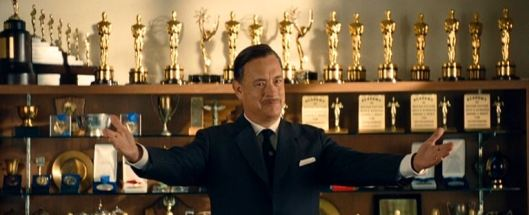 """Oh come now, I think you mean that she's greeted by Walt Disney! I mean, look at all the Oscars behind me!"""