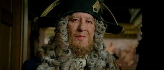 Is anyone else creeped out by Barbossa in this movie or is it just me?