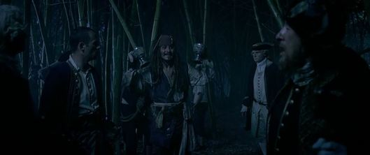 """See Barbossa, when we team up, we manage to get results!"""
