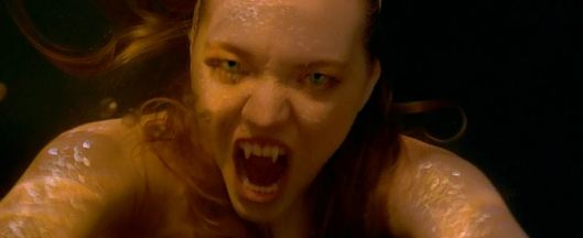 AHHH!!!!! I DON'T WANT TO MEET A MERMAID ANYMORE! Give me Ruth Wilson's angry face any day!