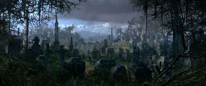 """""""When the crypt doors creak and the tombstones quake, spooks come out for a swinging wake..."""""""