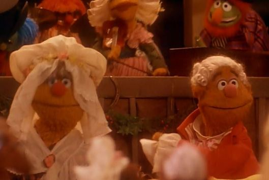 Maybe Fozzie Bear had it in his contract? Or maybe Fozzie's mother wouldn't allow her son to act anymore until and unless she would appear in the next film?