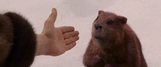One just doesn't do certain things with a beaver in public...that sounded wrong.