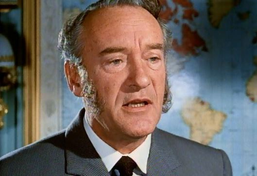 """And you should know that everyone runs from George Sanders."""