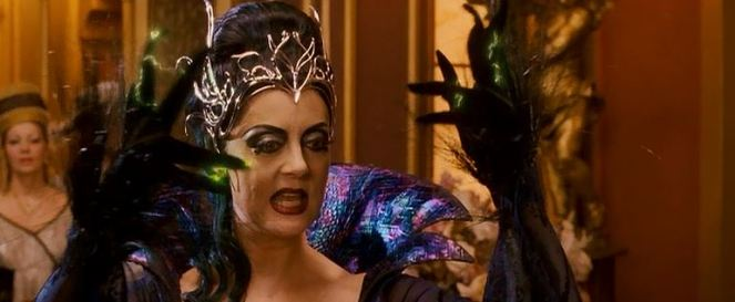 I wonder if she was the one who inspired Disney to make a film all about Maleficent?