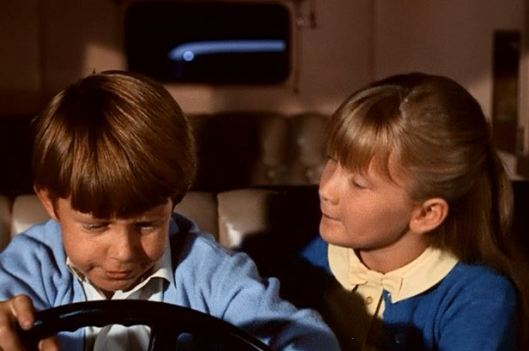 There's something about Jane and Michael driving a car that I just can't come to grips with.