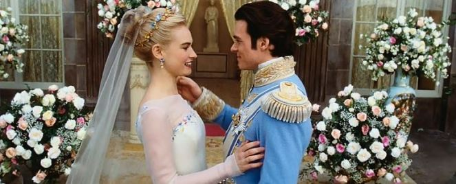 """""""Well, now that that's over, Cinderella, I'd like to get my wish fulfilled now."""" """"And what wish is that, my dear?"""" """"I wish that Disney would make a live-action film about me next!"""""""