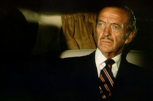 """I know this might probably disqualify me from winning the Grandfather of the Year award, but who cares? I'm David Niven! Everyone loves me!"""