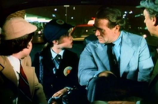 """If you don't let us stay in the taxi, it's curtains for you, see? Curtains! Unless you prefer drapes?"""