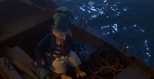 """Open sea...going boldly where no eagle has gone before...by rowboat, at least."""
