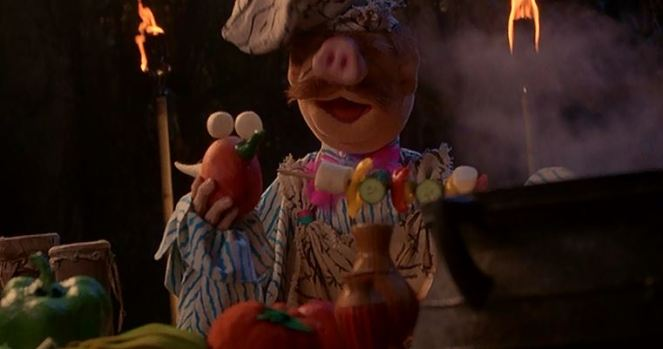 Even the Swedish Chef makes an appearance.
