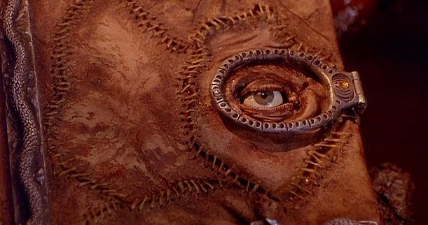 """The eye never tells! MUAHAHAHAAA!"""