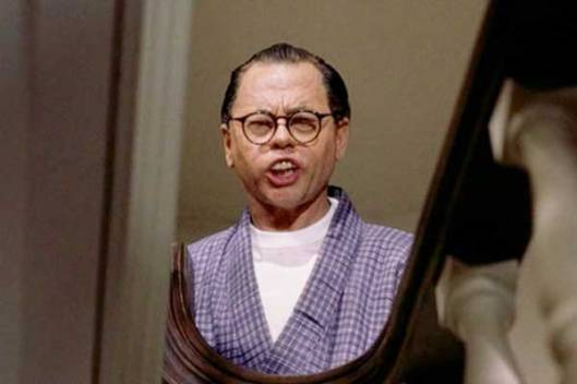 Basically, Mickey Rooney in Breakfast at Tiffany's is much more offensive (in my opinion, at least) than any of the actors playing Chinese men in this film.