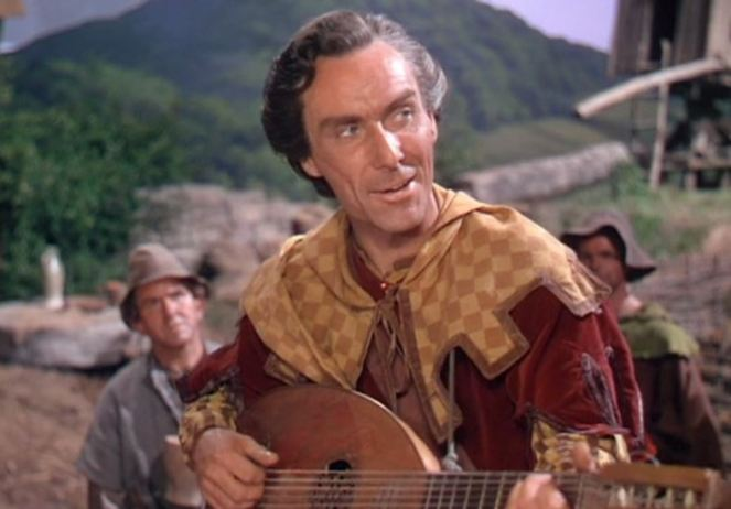 """No remuneration do I ask of you, but me mandolin would be glad of a crown or two..."""
