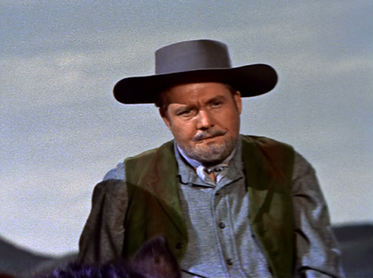 Even George Reeves is in this in what is his final big-screen appearance! But, he literally does nothing and you don't even notice that he's int he film that it doesn't even matter!