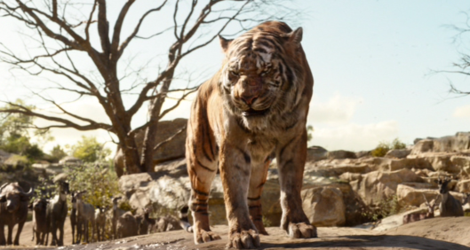 """Let's just say, can you make me angry? You ""shere khan""!"""