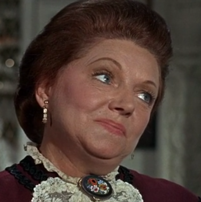 One of the servants happens to be played by Hermione Baddeley. So, this makes...what....3 Disney films now where she plays a member of the household staff. Gotta watch out for typecasting here!