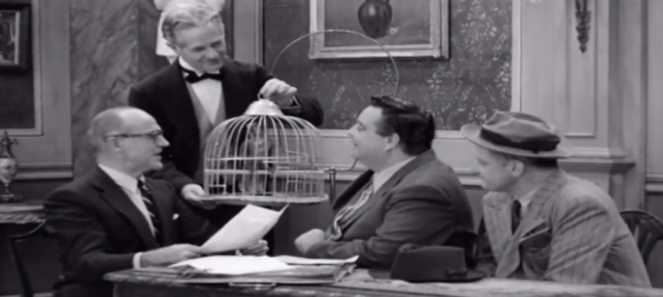 At least Ralph Kramden had a better deal, even if only getting the bird!